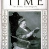 Image of Amy Lowell on Time Magazine