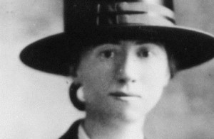 Marianne Moore as a young woman